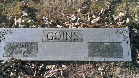 GOINS, JESSIE LAURA - Bradley County, Tennessee | JESSIE LAURA GOINS - Tennessee Gravestone Photos