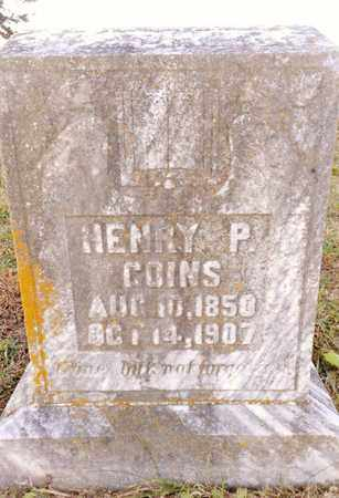 GOINS, HENRY P. - Bradley County, Tennessee | HENRY P. GOINS - Tennessee Gravestone Photos