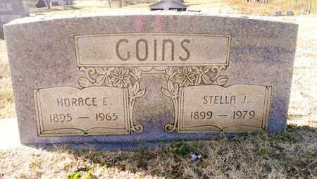 GOINS, HORACE E. - Bradley County, Tennessee | HORACE E. GOINS - Tennessee Gravestone Photos