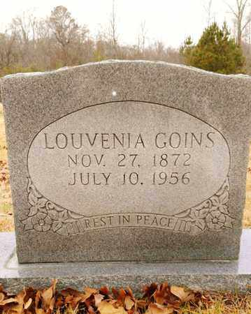 GOINS, LOUVENIA - Bradley County, Tennessee | LOUVENIA GOINS - Tennessee Gravestone Photos