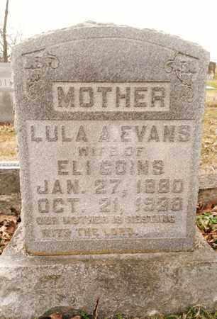 GOINS, LULA A. - Bradley County, Tennessee | LULA A. GOINS - Tennessee Gravestone Photos