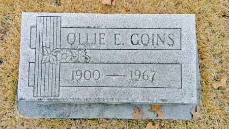 GOINS, OLLIE - Bradley County, Tennessee | OLLIE GOINS - Tennessee Gravestone Photos