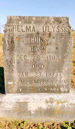 GOINS, THELMA ULYSSIS - Bradley County, Tennessee | THELMA ULYSSIS GOINS - Tennessee Gravestone Photos