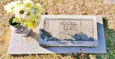GOINS, WENDELL F. - Bradley County, Tennessee | WENDELL F. GOINS - Tennessee Gravestone Photos