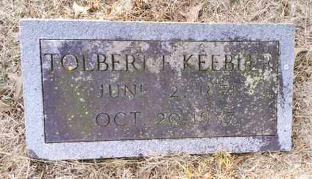 KEEBLER, TOLBERT - Bradley County, Tennessee   TOLBERT KEEBLER - Tennessee Gravestone Photos