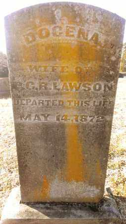 LAWSON, DOCENA - Bradley County, Tennessee | DOCENA LAWSON - Tennessee Gravestone Photos