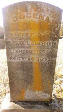 LAWSON, DOCENA - Bradley County, Tennessee | DOCENA LAWSON - Tennessee Gravestone Photos