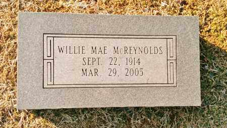 MCREYNOLDS, WILLIE MAE - Bradley County, Tennessee   WILLIE MAE MCREYNOLDS - Tennessee Gravestone Photos