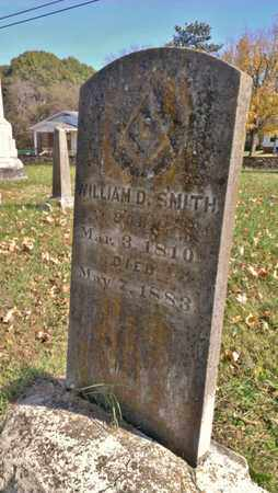 SMITH, WILLIAM D. - Bradley County, Tennessee | WILLIAM D. SMITH - Tennessee Gravestone Photos