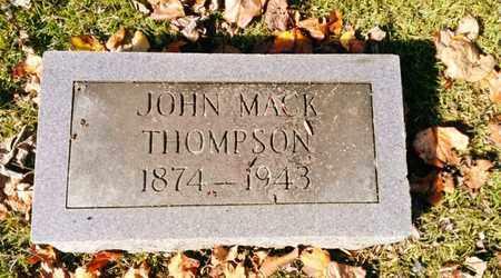 THOMPSON, JOHN MACK - Bradley County, Tennessee | JOHN MACK THOMPSON - Tennessee Gravestone Photos