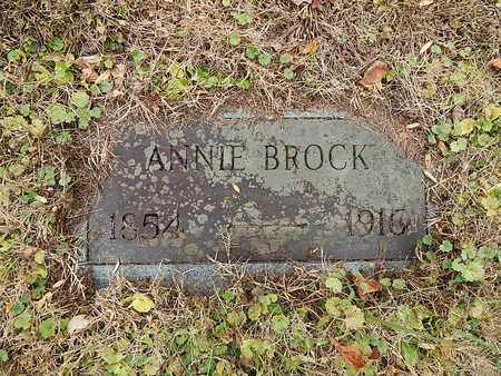 BROCK, ANNIE - Campbell County, Tennessee | ANNIE BROCK - Tennessee Gravestone Photos