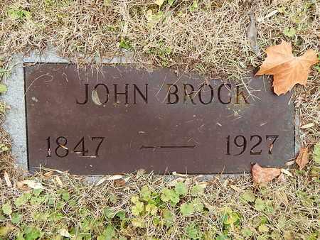 BROCK, JOHN - Campbell County, Tennessee | JOHN BROCK - Tennessee Gravestone Photos