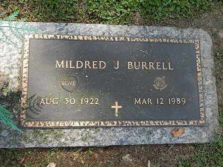 BURRELL, MILDRED J - Campbell County, Tennessee | MILDRED J BURRELL - Tennessee Gravestone Photos