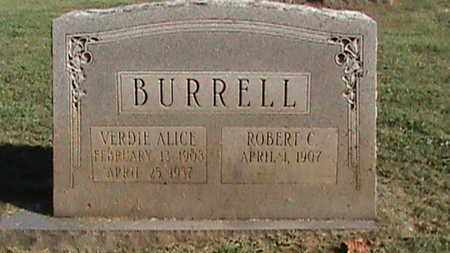 BURRELL, ROBERT C - Campbell County, Tennessee | ROBERT C BURRELL - Tennessee Gravestone Photos