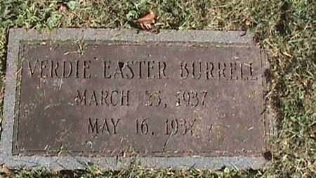 BURRELL, VERDIE EASTER - Campbell County, Tennessee | VERDIE EASTER BURRELL - Tennessee Gravestone Photos