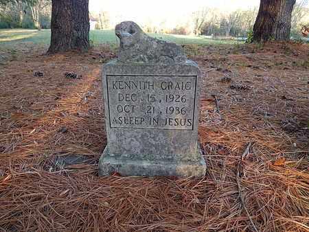 CRAIG, KENNITH - Campbell County, Tennessee | KENNITH CRAIG - Tennessee Gravestone Photos