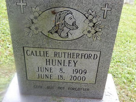 HUNLEY, CALLIE - Campbell County, Tennessee | CALLIE HUNLEY - Tennessee Gravestone Photos