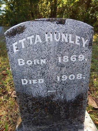 HUNLEY, ETTA - Campbell County, Tennessee | ETTA HUNLEY - Tennessee Gravestone Photos