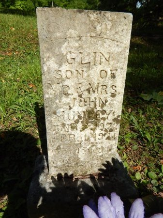 HUNLEY, GLIN - Campbell County, Tennessee | GLIN HUNLEY - Tennessee Gravestone Photos