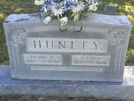 HUNLEY, ZETTIE L - Campbell County, Tennessee   ZETTIE L HUNLEY - Tennessee Gravestone Photos