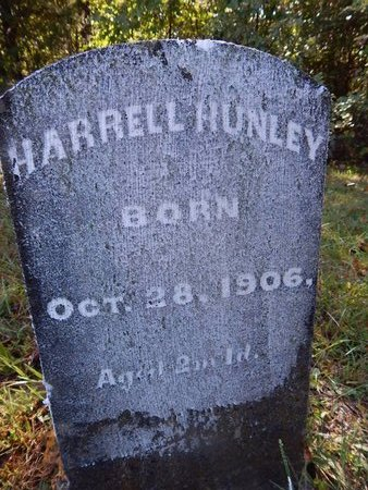 HUNLEY, HARRELL - Campbell County, Tennessee | HARRELL HUNLEY - Tennessee Gravestone Photos