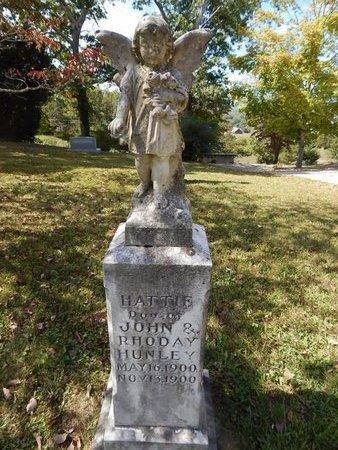 HUNLEY, HATTIE - Campbell County, Tennessee   HATTIE HUNLEY - Tennessee Gravestone Photos