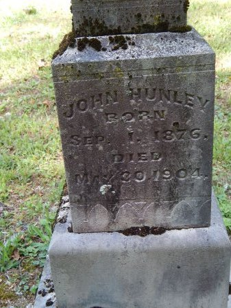 HUNLEY, JOHN - Campbell County, Tennessee | JOHN HUNLEY - Tennessee Gravestone Photos
