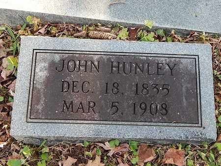 HUNLEY, JOHN - Campbell County, Tennessee | JOHN HUNLEY - Tennessee Gravestone Photos