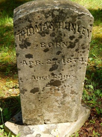 HUNLEY, THOMAS - Campbell County, Tennessee | THOMAS HUNLEY - Tennessee Gravestone Photos