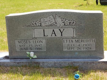 LAY, ETTA - Campbell County, Tennessee | ETTA LAY - Tennessee Gravestone Photos