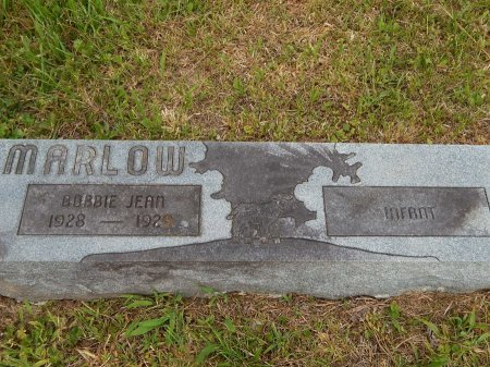 MARLOW, INFANT - Campbell County, Tennessee | INFANT MARLOW - Tennessee Gravestone Photos