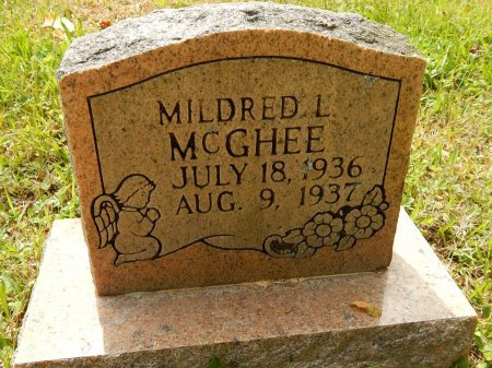 MCGHEE, MILDRED L - Campbell County, Tennessee | MILDRED L MCGHEE - Tennessee Gravestone Photos