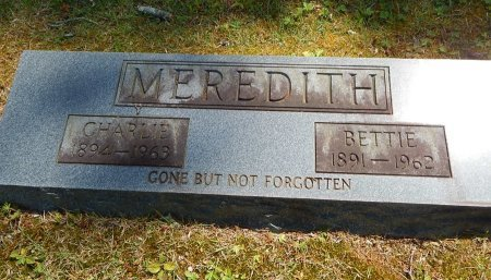 MEREDITH, BETTIE - Campbell County, Tennessee | BETTIE MEREDITH - Tennessee Gravestone Photos