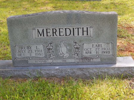 MEREDITH, RUBY L - Campbell County, Tennessee | RUBY L MEREDITH - Tennessee Gravestone Photos