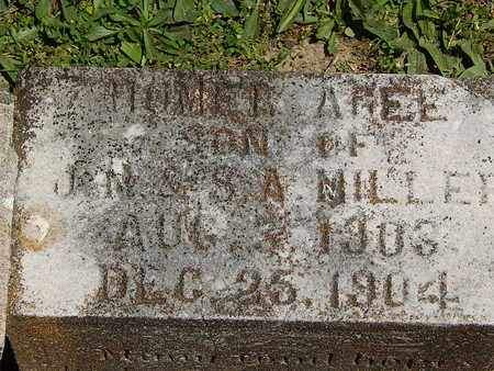 MILLER, HOMER AGEE - Campbell County, Tennessee | HOMER AGEE MILLER - Tennessee Gravestone Photos