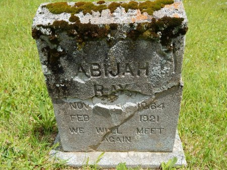 RAY, ABIJAH - Campbell County, Tennessee | ABIJAH RAY - Tennessee Gravestone Photos