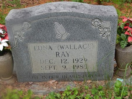 RAY, EDNA - Campbell County, Tennessee   EDNA RAY - Tennessee Gravestone Photos