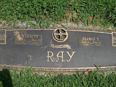 RAY, ALFRED T - Campbell County, Tennessee | ALFRED T RAY - Tennessee Gravestone Photos
