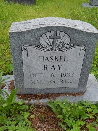 RAY, HASKEL - Campbell County, Tennessee | HASKEL RAY - Tennessee Gravestone Photos