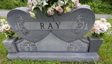 RAY, JOHN EARL - Campbell County, Tennessee | JOHN EARL RAY - Tennessee Gravestone Photos
