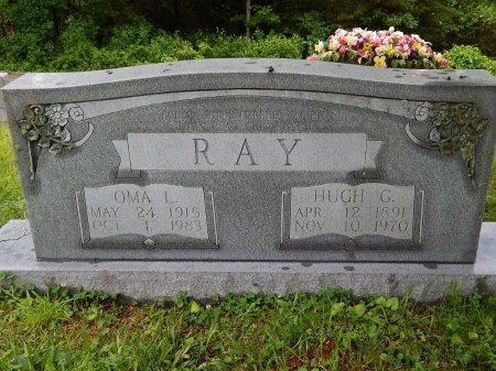 RAY, OMA L - Campbell County, Tennessee | OMA L RAY - Tennessee Gravestone Photos