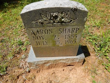 SHARP, AARON - Campbell County, Tennessee | AARON SHARP - Tennessee Gravestone Photos
