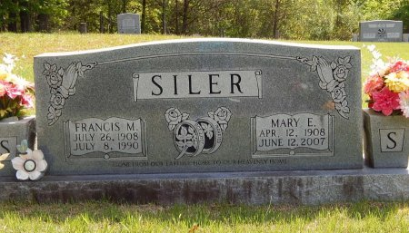 AYERS SILER, MARY E - Campbell County, Tennessee | MARY E AYERS SILER - Tennessee Gravestone Photos