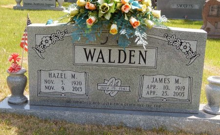 WALDEN, JAMES M - Campbell County, Tennessee | JAMES M WALDEN - Tennessee Gravestone Photos