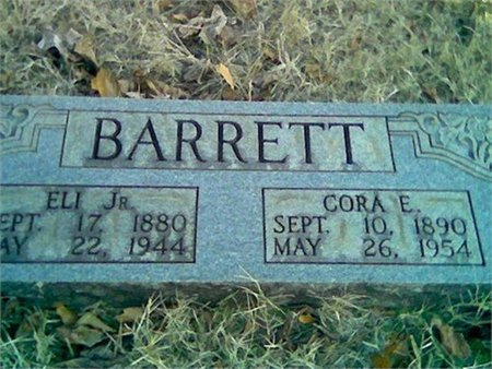 BARRETT, JR., ELI - Cannon County, Tennessee | ELI BARRETT, JR. - Tennessee Gravestone Photos