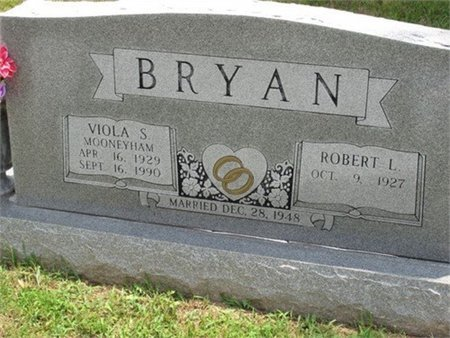 BRYAN, VIOLA SYRENE - Cannon County, Tennessee | VIOLA SYRENE BRYAN - Tennessee Gravestone Photos