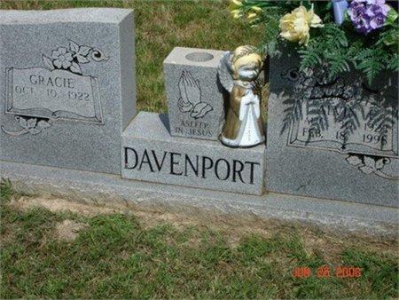 DAVENPORT, ALVIN E. - Cannon County, Tennessee | ALVIN E. DAVENPORT - Tennessee Gravestone Photos
