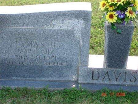 DAVIS, LYMAN D. - Cannon County, Tennessee   LYMAN D. DAVIS - Tennessee Gravestone Photos