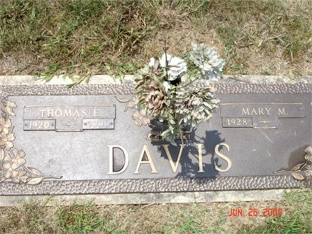 DAVIS, MARY MAGDALENE - Cannon County, Tennessee | MARY MAGDALENE DAVIS - Tennessee Gravestone Photos