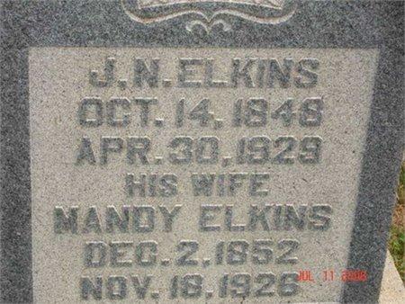 ELKINS, JOHN NEWTON - Cannon County, Tennessee | JOHN NEWTON ELKINS - Tennessee Gravestone Photos
